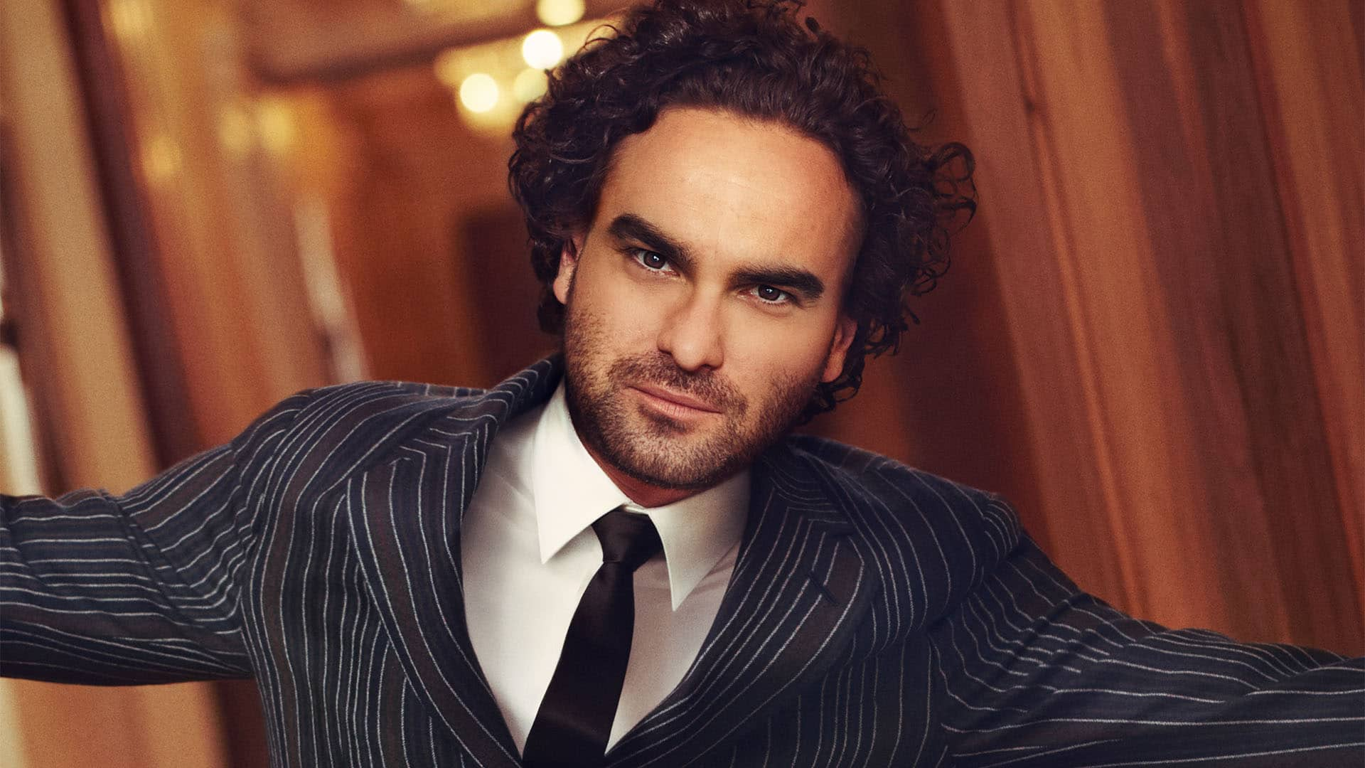 Who is Johnny Galecki from \