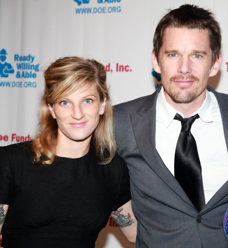 Who's Ethan Hawke's wi...